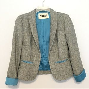 Miss Sixty Killah wool blend blazer M